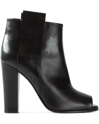 Golden Goose Deluxe Brand Open Toe Ankle Boots - Lyst