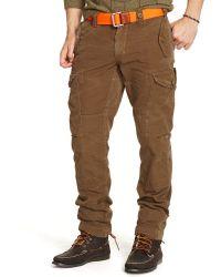 Polo Ralph Lauren Straightfit Cargo Pant - Lyst
