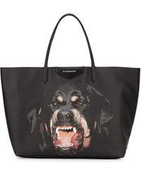 Givenchy Antigona Large Coated Canvas Shopping Tote Bag - Lyst