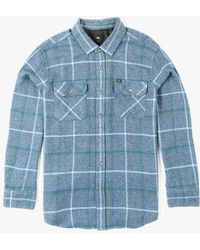 Obey | blue Peak Woven Shirt | Lyst