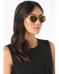 Bebe - Glarus Cat Eye Sunglasses - Lyst