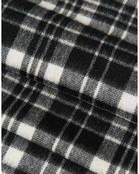 Minimum - Check Wool Scarf - Lyst