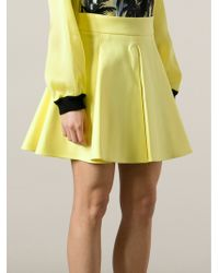 Fausto Puglisi Pleat Detail Skirt - Lyst