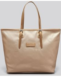 Longchamp Tote Metallic Derby Medium - Lyst