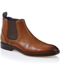 Ted Baker Camroon Leather Chelsea Boots - Lyst