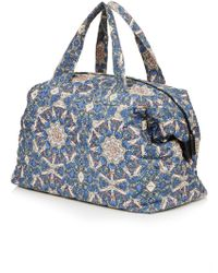 Topshop Krazy Kaleidoscope Luggage Bag - Lyst