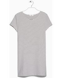 Mango Striped Dress - Lyst