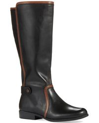 Anne Klein Wide Calf Cybele Riding Boots - Lyst