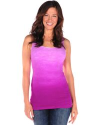 Tees by Tina Ombre Dye Tank - Lyst