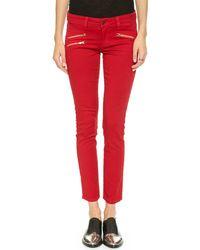 Siwy Michaela Slim Crop Jeans  Vixen - Lyst