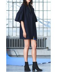 WHIT Lou Cashmere Wool Coat - Black