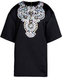 Manish Arora Short Dress black - Lyst