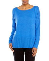 Diane von Furstenberg Bozeman Wool Boxy Sweater - Lyst