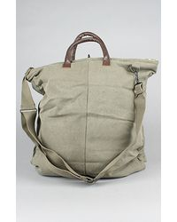 Rothco The Vintage Canvas Helmet Bag With Leather Handle - Lyst