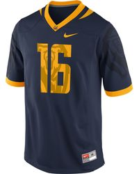 Nike Mens California Golden Bears Replica Football Game Jersey - Lyst