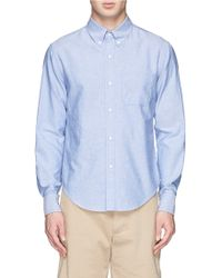 Band Of Outsiders Button Down Collar Oxford Shirt - Lyst