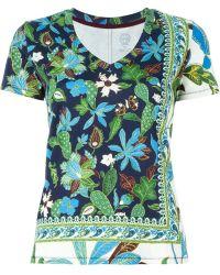 Tory Burch | Floral Print T-shirt | Lyst