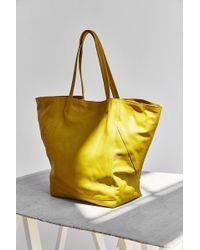 BDG - Seams Leather Tote Bag - Lyst