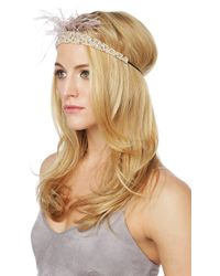 AKIRA - The Other Woman Headband - Lyst