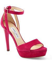 Jimmy Choo Women'S 'Kayden' Ankle Strap Sandal - Lyst