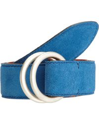 Barneys New York Contrast Lined Belt - Lyst