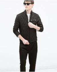 Zara Padded Jacket - Lyst