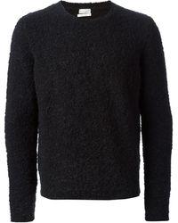Paul Smith Fur Effect Sweater - Lyst