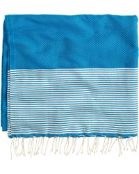 J.Crew Fouta Lifestyle® Ines Towel blue - Lyst