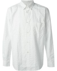 Golden Goose Deluxe Brand White 'Flow' Shirt - Lyst
