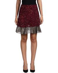 Rodarte | Knee Length Skirt | Lyst