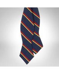 Polo Ralph Lauren Regimental Striped Bow Tie - Lyst