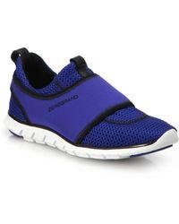 Cole Haan Zerogrand Neoprene & Mesh Sneakers blue - Lyst