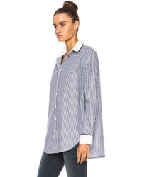 Each X Other Open Side Cotton Top - Lyst