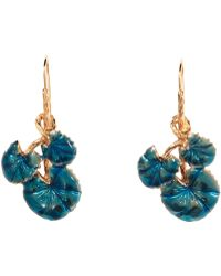 Aurelie Bidermann Nympheas Earrings - Lyst