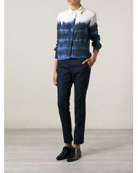 Stella McCartney Blue Tiedye Shirt - Lyst