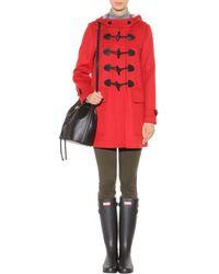 Burberry Brit - Minstead Wool Duffle Coat - Lyst