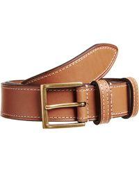 Crockett & Jones Leather Belt - Lyst