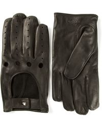 Valentino Perforated Gloves - Lyst
