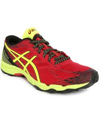 Asics | Gel Fujilyte Red/black Trainers | Lyst
