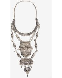 Nasty Gal Amanti Tiered Necklace - Lyst