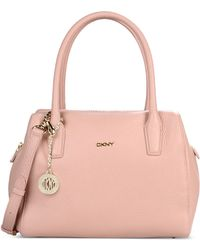 DKNY Large Leather Bag - Lyst