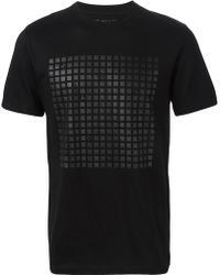 Haus By Golden Goose Deluxe Brand - Squares Printed T-shirt - Lyst
