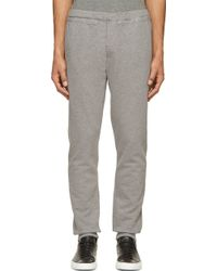 Paul Smith Grey Lounge Pants - Lyst