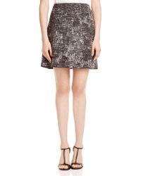 NIC+ZOE - Nic+zoe Tailored Tapestry Skirt - Lyst