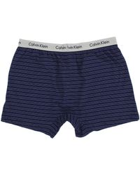 Calvin Klein Boxer Matrix Slim Fit Knit Boxer - Lyst