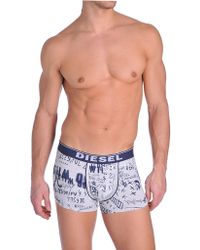 Diesel Shaun Logo Print Boxer Shorts - Lyst