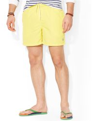 Polo Ralph Lauren Big and Tall Hawaiian Swim Shorts - Lyst