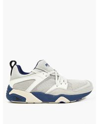 PUMA Grey Blaze Of Glory Nyy Sneakers beige - Lyst