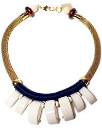 Lizzie Fortunato | Casa Azul Graphic Necklace | Lyst