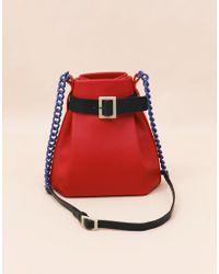 Matter Matters Mini Bucket Shoulder Bag - Red - Lyst